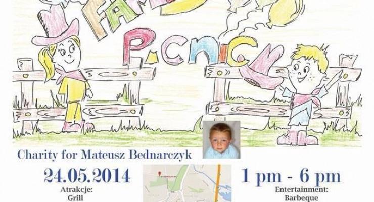 Piknik charytatywny dla Mateuszka Bednarczyka