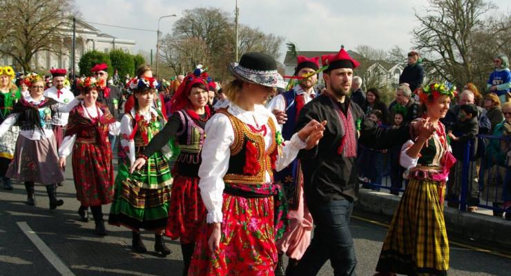 Parada i obchody PolskaEire Festival w Ennis