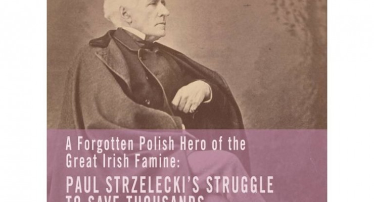 Prezydent Irlandii wziął udział w otwarciu wystawy o Pawle Strzeleckim