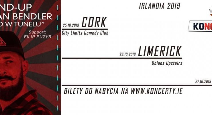 Adam van Bendler już w październiku wystąpi w Irlandii